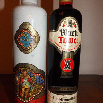 1971 BEAMEISTER & 1978 Black Tower - Bottles