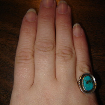 Small turquoise ring - Fine Jewelry