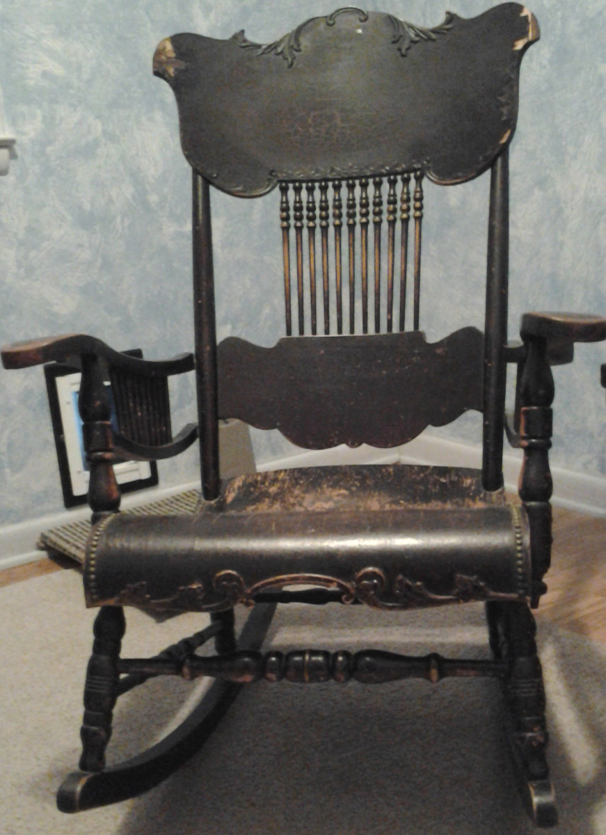 Great grandma s rocking chair collectors weekly