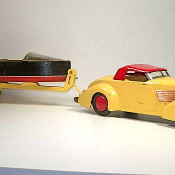 Wyandotte Cord and Lindstrom speedboat - Model Cars