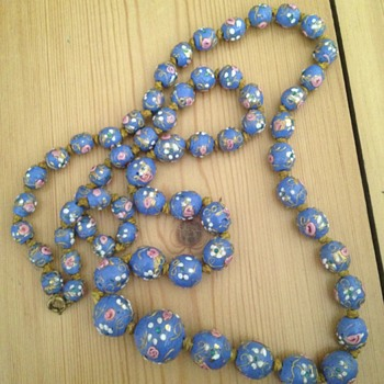 Venetian glass necklace