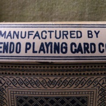 Nintendo Vintage playing cards