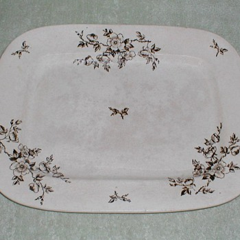 Ashworth Ironstone Platter
