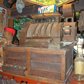 cash register - Coin Operated