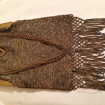 Metal mesh purse
