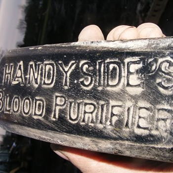 GEORGE HANDYSIDE'S BLOOD PURIFIER NEWCASTLE - Bottles