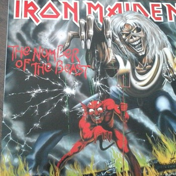 "Iron Maiden "" The Number Of The Beast "" - Records"