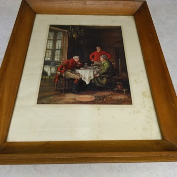 ANTIQUE PRINT - Visual Art