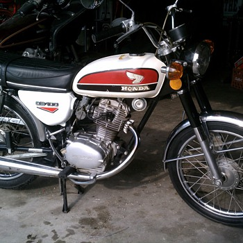 My 1973 Honda CB100 - Motorcycles