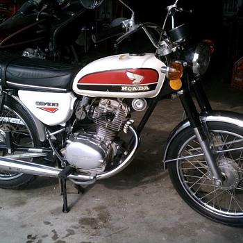 My 1973 Honda CB100 - Motorcycles
