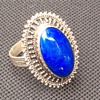Antique lapis ring