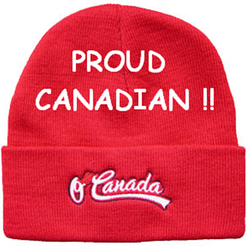 My Canadian Toque (aka Touque) - HAPPY CANADA DAY!!