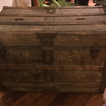 Steamer Trunk- new find!