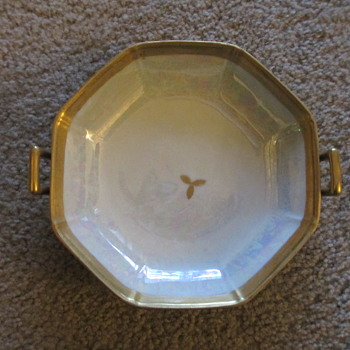Art Deco Candy/Nut Dish, with Greek Revival Handles?
