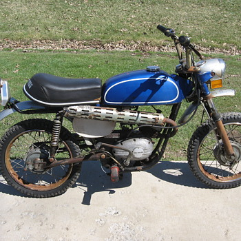 1974 Benelli 65 Mini-Enduro