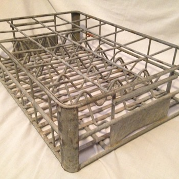 1940's Wire Coke Bottle Washing Rack - Coca-Cola