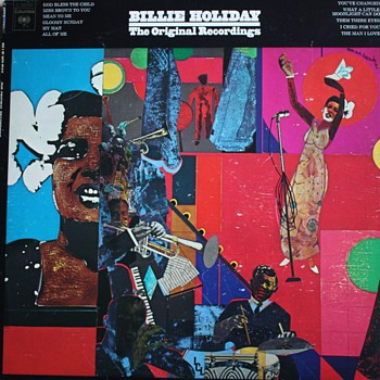 """Billie Holiday: The Original Recordings"" LP"