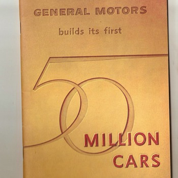 General Motors Tour Booklet