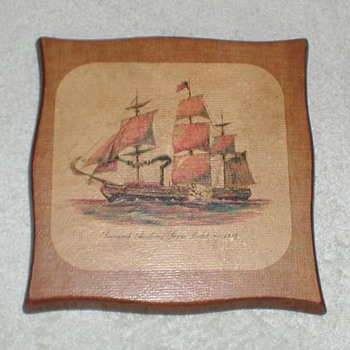 Savannah Steamship Picture Plaque