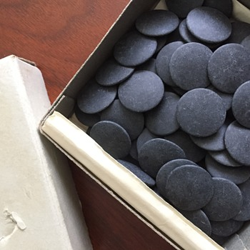 Vintage Slate GO Game Stones Made in Japan