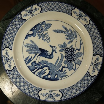 Three 'Yuan' Plates by Wood & Sons, England