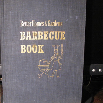 1956 Barbecue  Book by Better Homes & Gardens