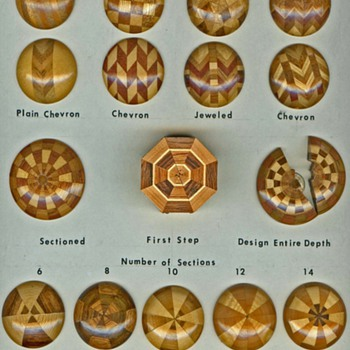 Wooden buttons Tunbridge Turney type - Sewing