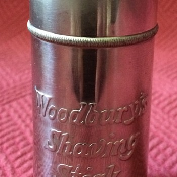 Vintage Woodbury's Shaving Stick Container - Accessories