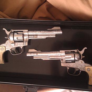 Vintage Nichols Stallion 41/40 Cap Guns