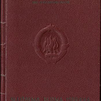 1952 Service passport for Bonn
