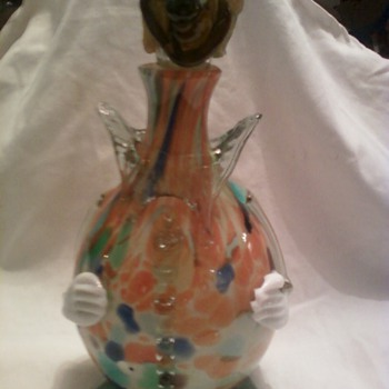 Art Glass Clown - Art Glass