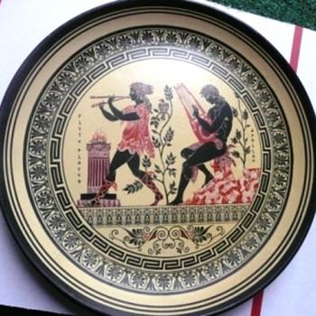 Interesting Egyptian Wooden Plate