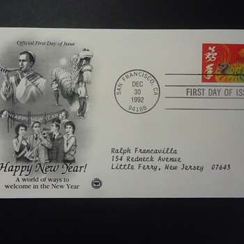HAPPY NEW YEAR! FIRST DAY COVER - Stamps