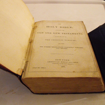 1873 Bible - Books