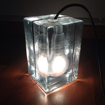 light bulb block lamp