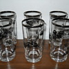 Vintage Bowes Seal fast indy glasses