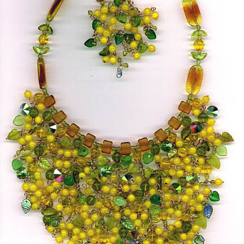 One of my first bibs. - Costume Jewelry