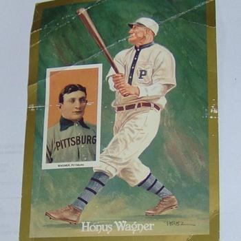 Honus Wagner Souvenir Card