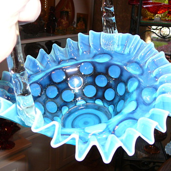 Fenton Basket - Glassware