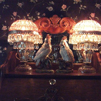 Pretty Boudoir Lamps  - Lamps