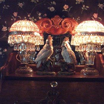 Pretty Boudoir Lamps