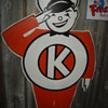 Need Information on Vintage Kayo Die Cut Metal/Tin Tire Sign?