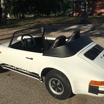 Porsche 911 mini go kart 1980