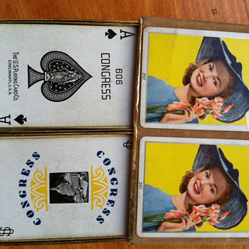 Congress 606 Playing Cards - Games