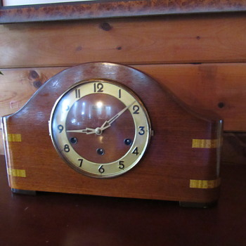 "Antique Mantel Clock ""Forestville"" - Art Deco"