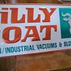 Billy Goat Lawn &amp; Garden Sign