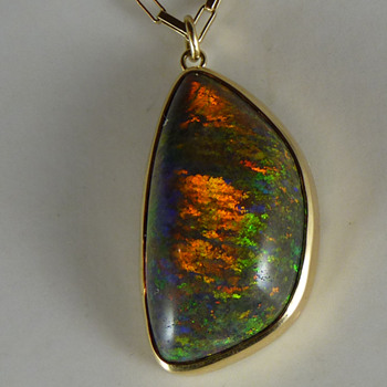 A Large Andamooka Sugar Treated Matrix Opal