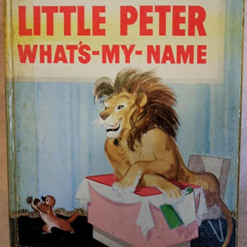 Little Peter Whats-My-Name Jolly Books Hard Cover