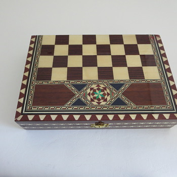 Travel Chess Set from Spain