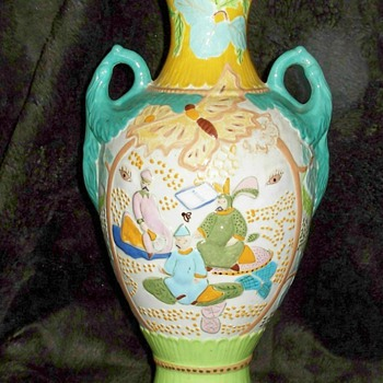 Chinese Folk Art - Art Pottery